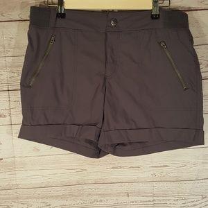 tangerine Womens Shorts Sz S Gray Hiking Cuffed